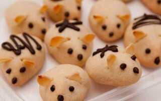 5 необычных рецептов в виде крыс и мышек на праздничный стол