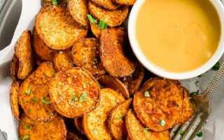 Золотистые домашние чипсы из сладкого картофеля