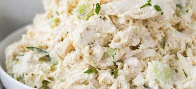 Классический салат с курицей с подборкой новых вкусов
