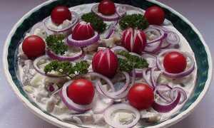 4 салата с сельдью не «под шубой»
