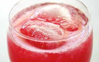 Домашний розовый лимонад – освежающая кислинка