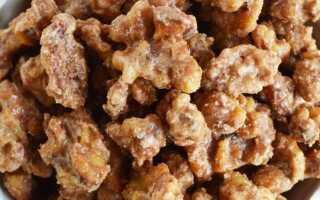 Грецкие орехи в сахаре с корицей. Вкусная закуска за 25 минут