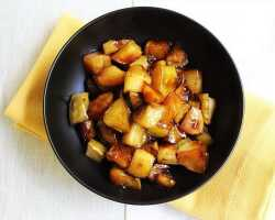 Жареные яблоки с медом – частичка кулинарной магии на тарелке