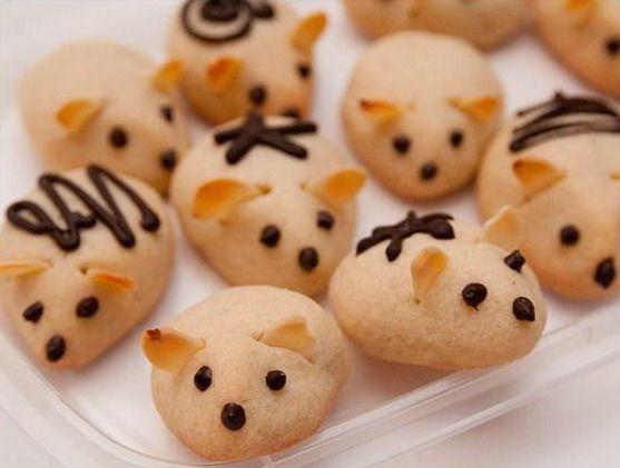 Печенье из духовки в форме мышек