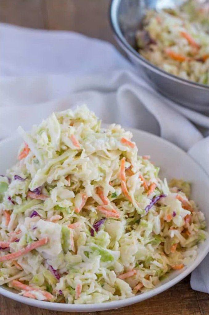 Капустный салат Коул Слоу с морковью