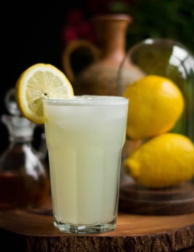 Классический лимонад с лимоном в домашних условиях